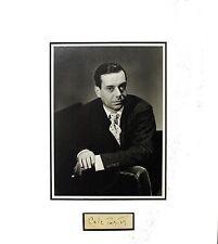 "Cole Porter ""Original Autograph"""