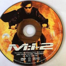 Mission Impossible II (DVD WIDESCREEN) NO CASE NO ART EXCELLENT CONDITION