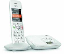 Gigaset E370A Weiß Schnurlostelefon ECO-DECT mit Anrufbeantworter BRANDNEU