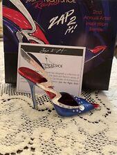 Rare Just The Right Shoe by Raine Shoe Miniatures- Zap 2 it! Nib