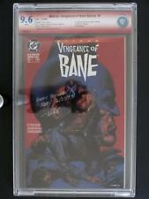 Batman: Vengeance of Bane #1 -NEAR MINT- CBCS 9.6 NM+ DC 1993 - 1st Bane(Signed)