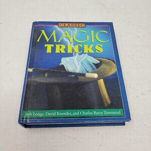 Classic Magic Tricks Hardcover Book Learn How-To 2003 Abracadabra Shazam