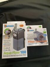 Superfish Aqua Flow 100 Aquarium Filter Plus Cartridges (2pcs)