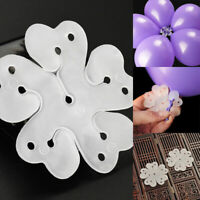 10PCS 5 in1 Seal Clip Ballons Accessories Plum Flower Clip Sealing Clamp Tool 03