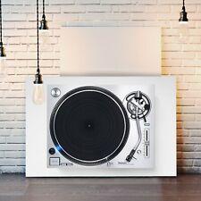 TECHNICS DJ DECKS -  CANVAS STREET WALL ART PRINT ARTWORK