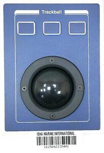 Trackball P200 Trackball Button Panel 3 Key Trackball Operate Marine Radar IMI