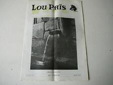 Lou Païs journal régional lozère Aout septembre 1976