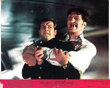 "ROGER MOORE & RICHARD KIEL in ""The Spy Who Loved Me"" Original Vint. L/CARD 1977"