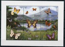 Antigua + Barbuda KB mit MiNr. 3027-35 postfrisch Schmetterlinge (1D183