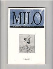 Milo Bodybuilding Strongman Weightlifting Magazine John Grimek 3-99 vol 6 #4