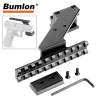 Tactical Pistol Handgun Scope Mount w/ Weaver Picatinny Rails for Red Dot Sight
