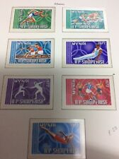 Munich Olympic Games 1972 Albania set