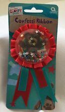 Little Charley Bear Confetti Award Ribbon Badge Children's Party Bag Filler