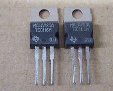 Thyristor TIC116M - TIC 116 M - 2 Stück