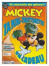 JOURNAL DE MICKEY 2560  BE +  sans  cadeau mini trotinette
