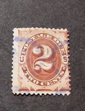 US Stamp Scott#  J2 Postage Due 1879   BP10