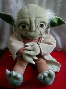 "Star Wars Yoda Large Plush 17"" Jay Franco and Sons stuffed plush toy"