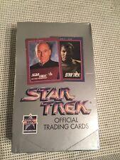Star Trek OFFICIAL TRADING CARDS * SEALED * UNOPENED * L@@K! * 1991 VINTAGE