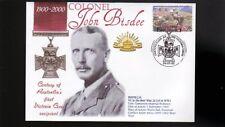 Australian Anzac Victoria Cross 100th Anniv Cov, Col, John Bisdee