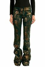 Just Cavalli Multi-Color Printed Women's Flare Jeans US 4 IT 26