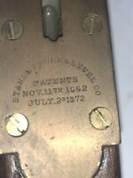 """Stanley Rule & Level 28"""" Pat 1862 1872 Brass Free shipping! Send Me An Offer!"""
