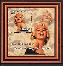 2002 MOZAMBIQUE -40° Aniversário Morte de Marilyn Monroe - bloco194 -MNH #4053