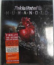 TOKIO HOTEL-HUMANOID ENGLISH VERSION CD+DVD+BANDIERA SUPER DELUXE EDITION