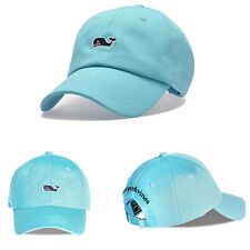 Vineyard Vines Whale Adjustable Baseball Caps Free Shipping Blue Embroidery hats