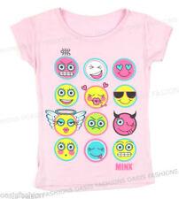 Camiseta de niña de 2 a 16 años rosas sin marca