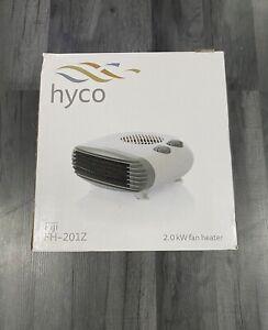 🌈HYCO Fiji FH-201Z 2.0w Fan Heater portable 3 Heat Settings White boxed🌈