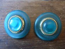 BIJOU 22 Clips ronds Boucles d'oreilles Vintage 80 clips earrings