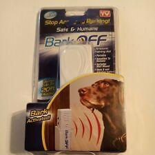 Bark Off Dog Anti Barking Ultrasonic Training Aid To Stop Barking