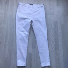 NEW LOOK  White Skinny Jeans Flat Front UK 20 Z5