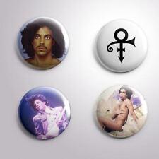4 PRINCE THE ARTIST - Pinbacks Badge Button Pin 25mm 1''
