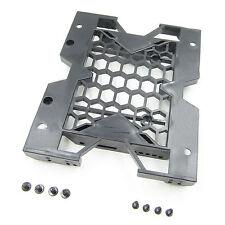 "Hard Drive Bay Tray Cooling Fan Mounting Bracket w/Screws 5.25"" to 3.5"" 2.5"" SSD"