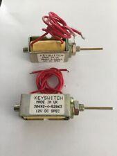KEYSWITCH SMO/12VDC SOLENOID NEW