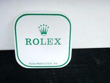 VINTAGE ROLEX WATCH TIN BOX STORAGE CONTAINER