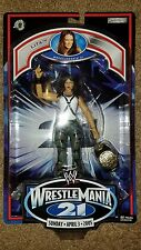 Lita Figure Jakks Wrestlemania 21 WWE WWF TNA ROH Hardy Jeff Matt with belt