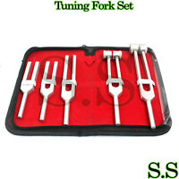 Tuning Fork Set of 5 - Medical Surgical Diagnostic instruments