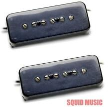 Seymour Duncan Antiquity P90 Soapbar Black Set ( FREE WORLDWIDE SHIPPING )