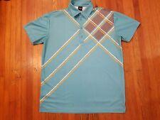 Sligo Teal Golf Shirt Men's Size M