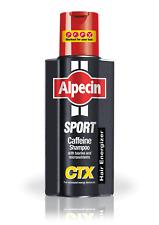 2 x ALPECIN CAFFEINA sport CTX Shampoo 250ml con Taurin & MICRONUTRIENTI
