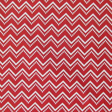 In the Beginning Fabrics RANUNCULUS Chevron Red- yards