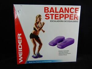WEIDER BALANCE STEPPER MODEL 58682 STABILITY TONING CORE FITNESS W/ HAND PUMP