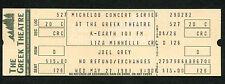 1981 Liza Minnelli Joel Grey Unused Full concert ticket Greek Theatre Cabaret