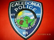 Collectible Minnesota Police Patch,Caledonia,New