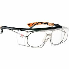 NoCry Over-Spec Safety Glasses with Anti Scratch Wrap-Around Lenses, ANSI Z28+
