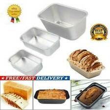 Large NON STICK LOAF TIN Baking Pan Bread Loaf Cake Oven Tray Tin Steel Tool New