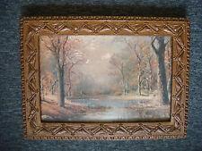 """Antique Wood Frame - 23"""" x 16 1/2"""""""