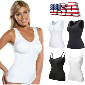 NEW MISS MARY OF SWEDEN BODY SHAPER CAMISOLE WITH UNDER WIRED TANK BRA 2786